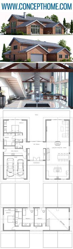Hausplan, Hausbau, Grundriss #hausplan #hausbau #grundriss