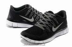 Nike Free Run+ 5.0 Womens Trainerss Black/White