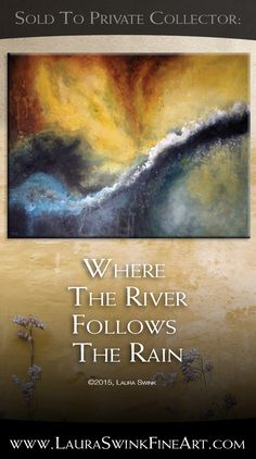 Recent Sold Artwork The Collector, Rivers, Cincinnati, Flow, Original Paintings, Abstract Art, Study, Fine Art, Water