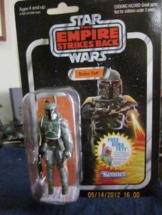 STAR WARS VINTAGE COLLECTION BOBA FETT FIGURE  FREE SHIPPING