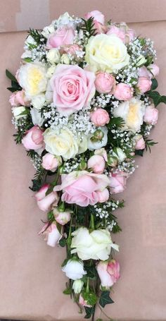Contemporary bouquets and flowers for Weddings, Events and Special Occasions Cascading Wedding Bouquets, Bride Bouquets, Bridal Flowers, Flower Bouquet Wedding, Rose Wedding, Floral Bouquets, Tall Wedding Centerpieces, Wedding Flower Arrangements, Floral Arrangements