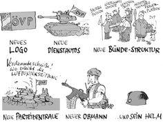 Die ÖVP wird jetzt militärisch  Credit: Michael Pammesberger