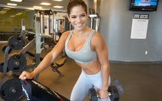 MICHELLE LEWIN Workout: Build Beautiful Biceps!