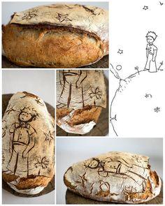 Domácí kváskový chléb - Malý princ Homemady sourdoghbread - Le petite prince Princ, Bread
