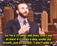 I don't wike it! XD << I'm starting to do this now. Thanks Miles for getting your Uncle Chris to say this!