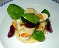 Thomas Keller hearts of palm beet salad