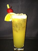 Gulf Breze - Mardi Gras Cocktail  2 oz. Bacardi Light Rum  2 oz. passion fruit syrup (You can find it at your local liquor store)  2 oz. lemon-lime soda  1 oz. lime juice  1 oz. Bacardi Gold Rum