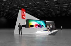 Adobe exhibition stand design | | GM stand design
