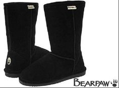 Black Bearpaw Boots WANT!!!!