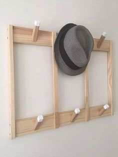 Perchero De Pared Nordico Escandinavo 65x50 Puntas Blancas - $ 675,00 Craft Room Decor, Home Decor, Muebles Living, Wood Furniture, Home And Living, Diy And Crafts, Projects To Try, Sweet Home, New Homes