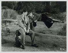 It Happened One Night. Clark Gable and Claudette Colbert are magic together.