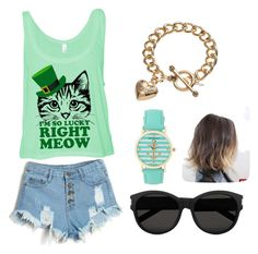 Untitled #36 by stray-arrow on Polyvore featuring polyvore, fashion, style, Juicy Couture, Aéropostale, Yves Saint Laurent and clothing