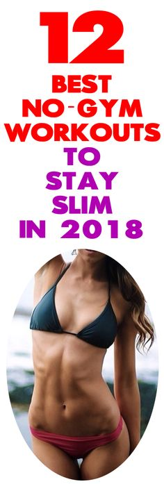 Looking for incredible no-gym tips to stay slim in 2018? As our careers get more demanding and our lives get busier going to a gym can be just a fantasy, right? However, that isn't an excuse for not working out at all! It's a lot easier than you think to work out when you're trying to decompress in front of the TV. Gym Workouts To Lose Weight, Lower Ab Workouts, Losing Weight Tips, Easy Workouts, Best Weight Loss, How To Lose Weight Fast, Gym Tips, Lower Abs, Butt Workout