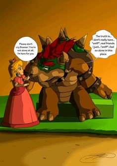 Peach and bowser sexy comic pic 928