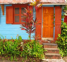 humbleness with flair! while in Dominica (by notnA) via fragments of broken dreams . Caribbean Homes, Caribbean Culture, Villas, Puerto Rico, Beautiful Homes, Beautiful Places, Thinking Day, West Indies, Island Life