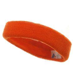 Headband (terry)-Orange