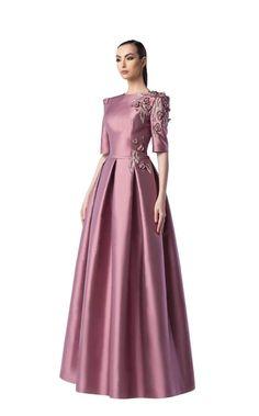 Edward Arsouni Couture 0250 Hijab Evening Dress, Evening Dresses, Prom Dresses, Indian Designer Outfits, Designer Gowns, Vintage Style Dresses, Elegant Dresses, Brown Bridesmaid Dresses, Dress Outfits