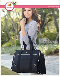 2016 New Arrival Quality Sturdy Pet Carrier Bag Dog Travel Bag for Small Dogs/Cat Casual Oxford Dog Handbag Brown&Black S M L-in Dog Carriers from Home & Garden on Aliexpress.com | Alibaba Group