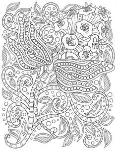 Mandala para Colorear Coloring for Big Kids
