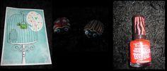 Huhtikuu 2013, Risteilymiittilahja, osa1. Ötökänmallisia suklaanamuja ja crack nails -kynsilakkaa.