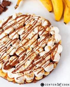 #sweetoothgirl:   Banoffee Smores Pizza