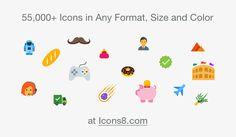 54,300 бесплатных иконок - крупнейший иконочный набор в истории
