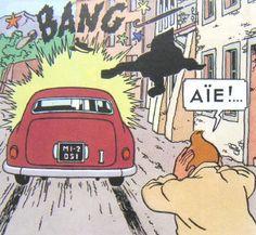 The Calculus Affair Willys Mb, Quick Et Flupke, Jaguar, Captain Haddock, Herge Tintin, Quentin Blake, Ligne Claire, Comic Books, Calculus