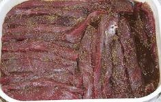 Beef and Game Biltong Recipe - South African Magazine Great Recipes, Snack Recipes, Cooking Recipes, Healthy Recipes, Snacks, Biltong, South African Recipes, Charcuterie, Meals For One
