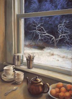 """""""Winter Mornings,"""" by Deborah DeWit"""