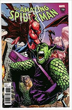 The Amazing Spider-Man #798 (2018) Variant Humberto Ramos Connecting Cover: 1st Appearance of Red Goblin: Amazon.com: Books Spiderman Spider, Spider Man 2, Spider Gwen, Marvel Comic Books, Marvel Comics, Stuart Immonen, Comics Story, Marvel Entertainment, Humberto Ramos