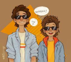 daily life of a dizzy fangirl — captbexx: Steve & Dustin XD  soon available in my...