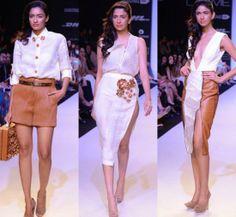 Nikhil Thampi Collection at Lakme Fashion Week Summer/Resort 2014