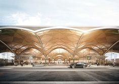 Competition Images for Rosfov Airport, Russia for HAPTIC Architects