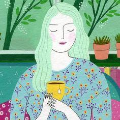 happy spring! ☕️ Yelena Bryksenkova