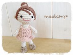 How to crochet a amigurumi 2/6『胴体』人型のあみぐるみの編み方
