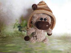 Amigurumi Stuffed bear Fun Sweet Bear toy Crochet bear Knitted Miniature bears Plush Nursery Decor toys stuffed plushy Easter Toy brown bear by FavoritetoysByMarina on Etsy https://www.etsy.com/listing/517466809/amigurumi-stuffed-bear-fun-sweet-bear