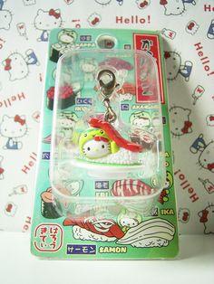 HELLO KITTY GOTOCHI Mascot Figure Charm KAPPA ZUSHI JAPAN Only! Sanrio 2008