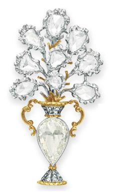 DIAMOND BOUQUET BROOCH, BUCCELLATI