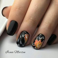 See the most inspiring fall leaves nail art. We gathered fresh ideas of autumn nail designs that are worth trying this season. Fall Nail Art, Autumn Nails, Seasonal Nails, Holiday Nails, Winter Nail Designs, Nail Art Designs, Pretty Nails, Cute Nails, Gorgeous Nails
