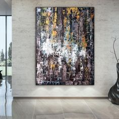 Large Abstract Painting Modern abstract painting art image 6 Colorful Artwork, Colorful Paintings, Texture Art, Texture Painting, Abstract Wall Art, Canvas Wall Art, Large Painting, Painting Art, Extra Large Wall Art