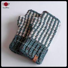 Mitones de lana tejidos a #ganchillo #crochet #mitones #fingerless #mittens #hechoamano #handmade #coralincolorado  www.coralincolorado.com