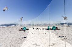 Gallery of On Cottesloe Beach, Gjøde & Partnere Arkitekter Create a Floating Desert Island for Sculpture By The Sea - 5