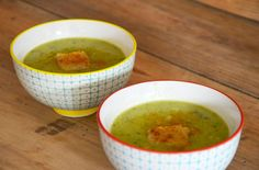 Recette : soupe de courgette