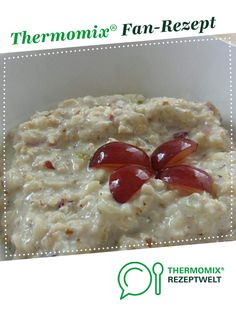 Fruchtiges Bircher Müsli Fruity Bircher muesli by A Thermomix ® recipe from the category other main dishes on www.de, the Thermomix ® Community. Cooking For One, Cooking Chef, Cooking Pasta, Girl Cooking, Easy Cooking, Cooking Ideas, Healthy Cooking, Thermomix Desserts, Chocolate Chip Oatmeal