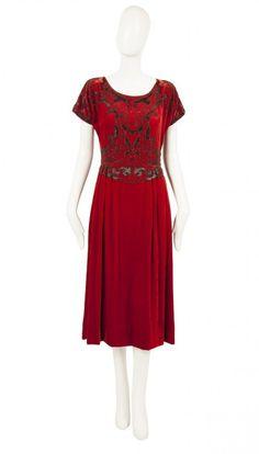 A Paul Poiret haute couture dress, circa 1925