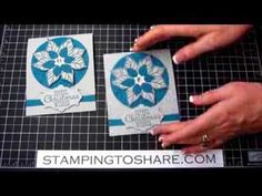 Kay Kalthoff is Stamping to Share with Stampin' Up! Learn how to make this Joyful Christmas Gift Card with a closure created with the Envelope Punch Board.