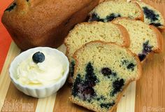 Blueberry Orange Bread 3