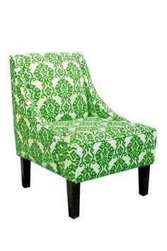 Swoop Arm Chair - Luminary Emerald