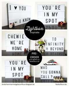 Rude Light Box Quotes : light, quotes, Lightbox, Ideas, Light, Quotes,, Boxing