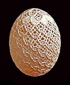 Egg Carving Art
